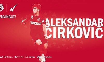 El serbi Cirkovic, nou jugador del Nàstic