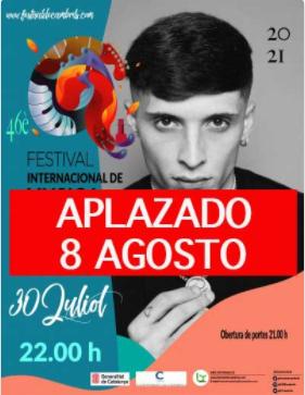 El concert de Prok del festival de música de Cambrils s'ajorna al 8 d'agost