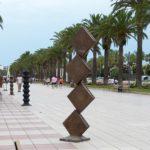 Salou inaugura una exposició de 15 escultures de gran format de l'artista Martí Rom