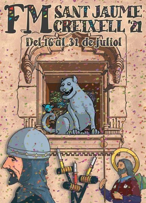 S'apropa el primer cap de setmana intens de la Festa Major de Sant Jaume de Creixell
