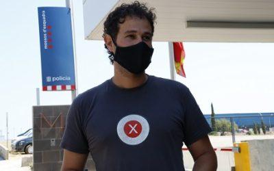 El vallenc Carles Heredia s'acull al dret de no declarar als jutjats després de la seva detenció