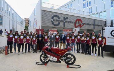 L'equip URVoltage Racing torna a la competició MotoStudent amb una moto elèctrica millorada