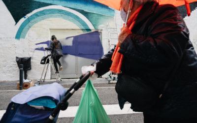 Segona edició del projecte artístic Mar-Mur de pintura mural al Serrallo
