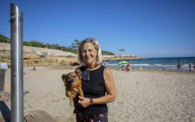 Tarragona estrena platja per a gossos al Miracle