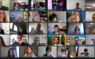 L'esbroncada en el debat de la cinquena promoció de SPiSP fa esclatar Ricomà: 'El ple no és una tertúlia de Telecinco'
