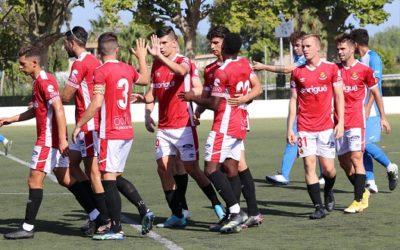 Pol Prats s'ho passa bé a les Terres de l'Ebre i marca dos dels cinc gols del Nàstic contra el CD La Cava