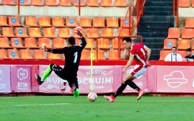 Plàcida victoria del Nàstic davant l'Atlético Levante (4-1)