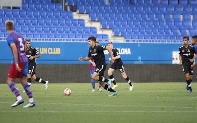 Empat a res (0-0) entre el Barça B i el Nàstic
