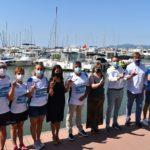 Malalts per l'Aigua i Nàutic Cambrils, junts en el repte solidari 'Connecta't per l'ELA'