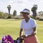 Daniela Campillo, jugadora del Golf Costa Daurada, al Campionat d'Espanya