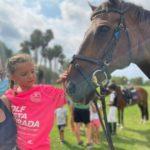Arriben els cavalls al Golf Costa Daurada
