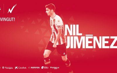 El defensa Nil Jiménez, procedent de l'Espanyol, nou fitxatge grana
