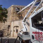 La Muralla se sotmetrà a treballs de manteniment que afectaran la circulació per la Part Alta