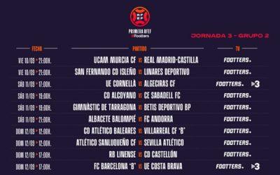 El Nàstic ja coneix els horaris dels seus enfrontaments amb els filials del Betis i del Madrid