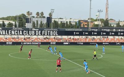El Nàstic perd 2-0 contra el València Mestalla en un partit per oblidar