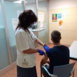 El CAS Tarragona vacuna de la Covid-19 els usuaris inclosos en el tractament de metadona