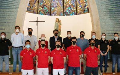 El Nàstic comença el compte enrere amb la visita al Santuari del Loreto