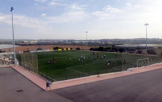 La RFEF subvenciona amb 9.000 euros les millores al camp de futbol de l'estadi municipal d'Altafulla