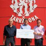 El Genuine participa en l'entrega de fons de l'Ajuntament de La Pobla a Down Tgn
