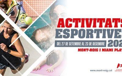 La nova temporada d'activitats esportives a Mont-roig arrenca amb novetats