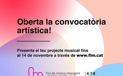 La FiM Vila-seca obre convocatòria de propostes artístiques per a l'edició 2022