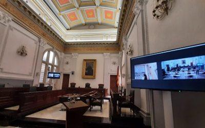 L'Ajuntament de Reus, pioner en la celebració de plens híbrids presencial i telemàtic
