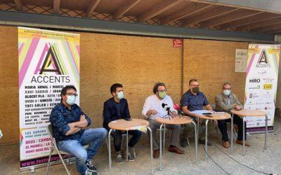 L'Accents arriba amb 24 actuacions a Reus i concerts a 6 subseus del Baix Camp i el Tarragonès