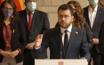 Aragonès reclama la retirada de l'euro ordre, crida a la unitat i torna a prioritzar amnistia i autodeterminació