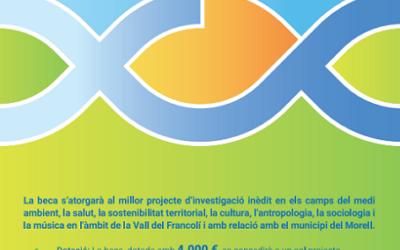 Convocada la II edició de la beca de recerca i investigació Xavi Catà Pros del Morell