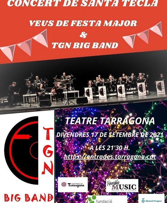 AGENDA: La TGN Big Band es fa acompanyar de cantants amb DO 'teclero' pel concert de divendres