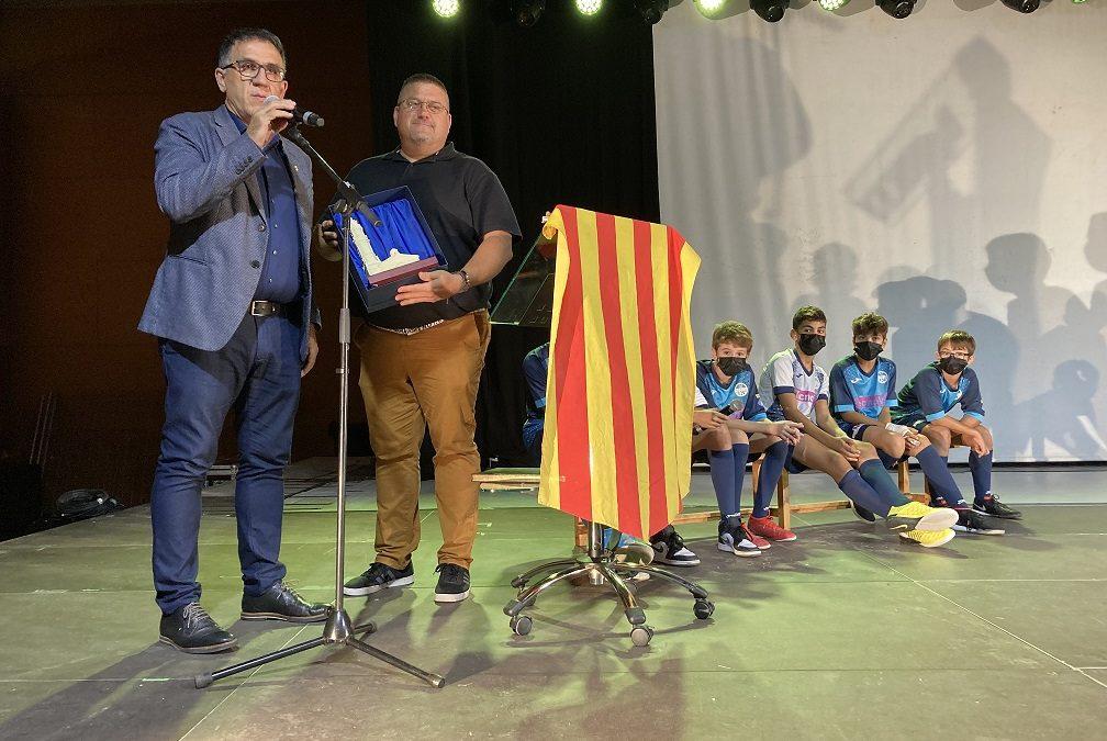 El futbol sala aleví d'Alforja, protagonista del pregó de la Festa Major