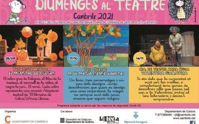 El cicle Diumenges al Teatre de Cambrils obre la temporada amb El Monstre de Colors