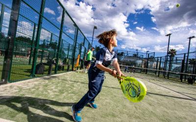 Les escoles de pàdel i tennis del Golf Costa Daurada freguen el cent per cent d'ocupació