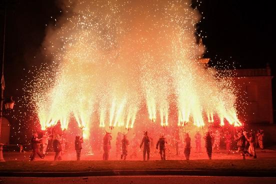 Galeria d'imatges de la fi de festa de Misericòrdia: Foc, molt de foc…