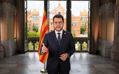Aragonès reclama una 'aliança' entre partits i societat per 'recuperar la iniciativa' i fer 'inevitable' el referèndum