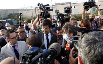 El jutge decreta la llibertat immediata de Puigdemont i li permet sortir de Sardenya