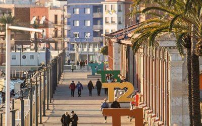 El Moll de Costa, amb exposicions, activitats musicals, culturals i artístiques, dibuixa un passeig festiu per Santa Tecla