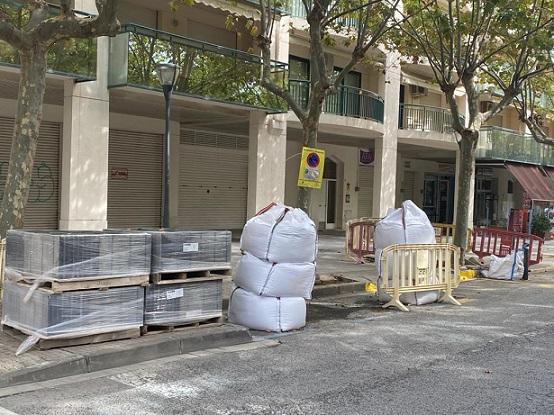 L'Ajuntament de Cambrils continua realitzant obres de millora dels carrers del municipi
