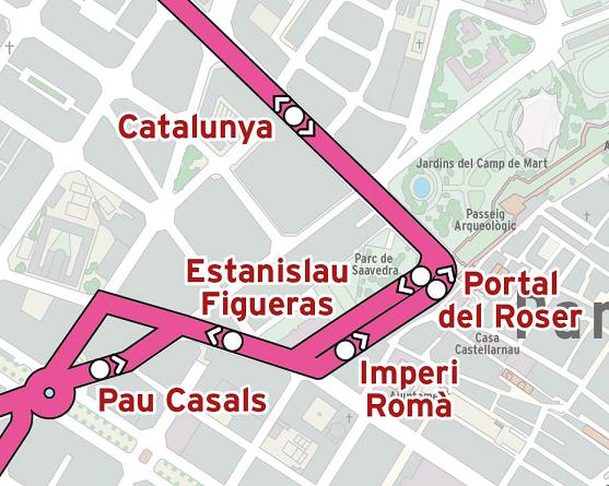 Talls de trànsit i afectacions a la via per les obres de millora de Tarragona