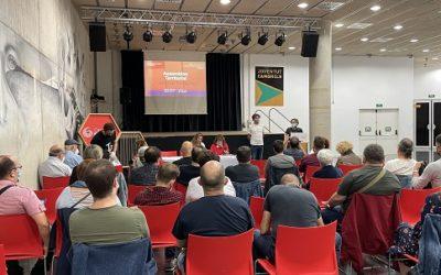 Tret de sortida a la tercera assemblea nacional dels Comuns al Camp de Tarragona