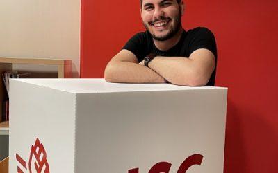 Ismael Fraile, nou primer secretari de la Joventut Socialista de Tarragona