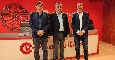 La Cambra de Reus i Teruel Existe comparteixen objectius de cara als pressupostos de l'Estat