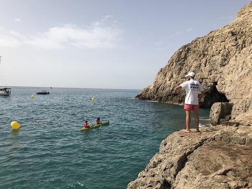 Vandellòs i l'Hospitalet de l'Infant fa un balanç positiu del control d'accés i aforament a la Cova del Llop Marí