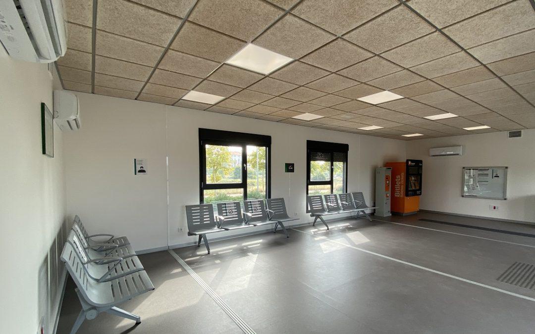 Entra en funcionament l'estació provisional de Salou-PortAventura