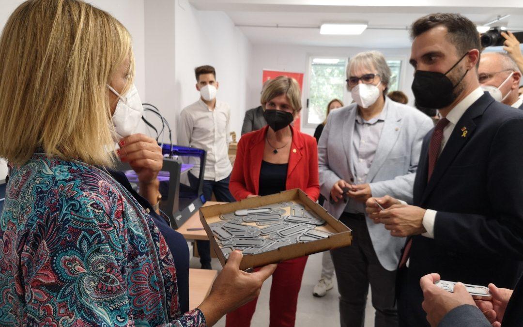 Obre a la Boca de la Mina el nou Centre d'Innovació de la Diputació, que formarà més de 5.000 persones l'any
