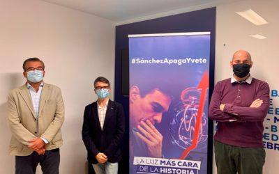 El PP de Tarragona presenta una campanya contra la pujada de la llum