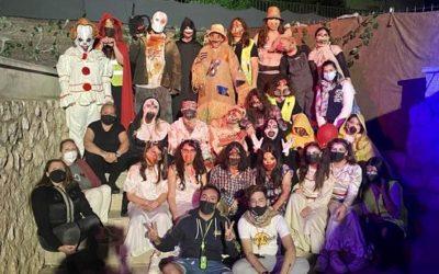 Més de 400 persones gaudeixen del Passatge del Terror de Bonavista en l'inici de la 'Halloween Week'