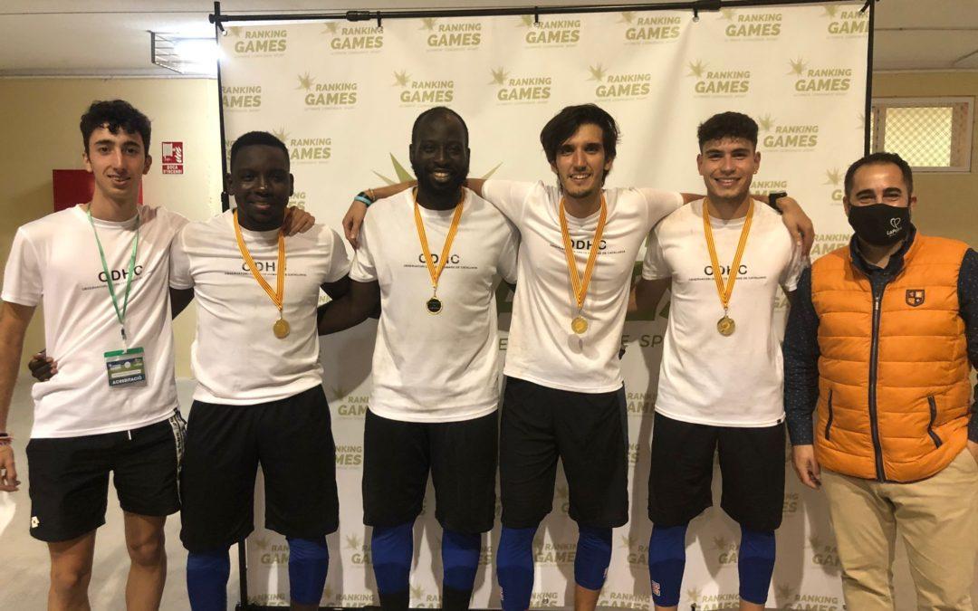 L'ODHC i l'equip de La Pobla de Mafumet, campions de Bàsquet 3X3 als Ranking Games