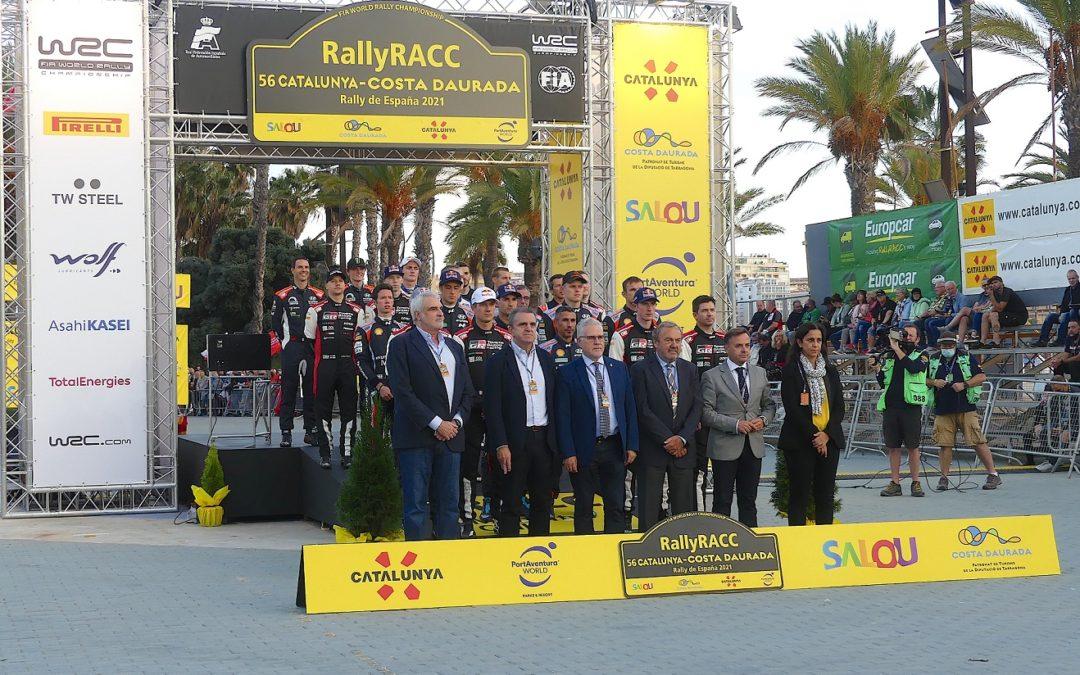 Cerimònia oficial de sortida del 56 RallyRACC
