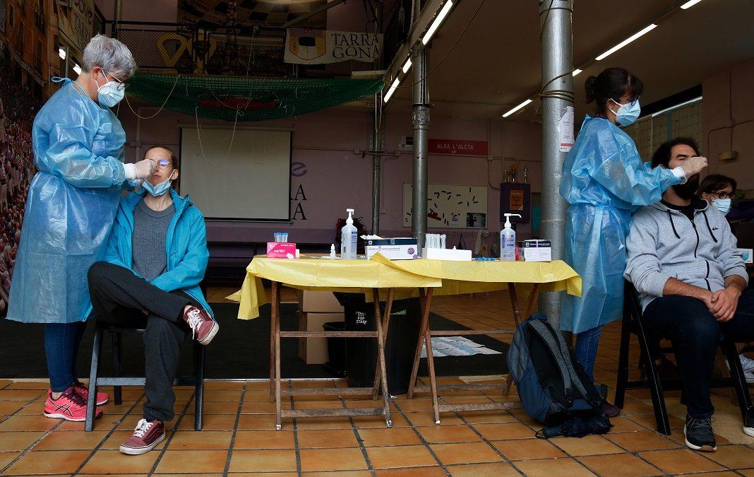 Lleuger augment del risc de rebrot de la pandèmia al Camp de Tarragona